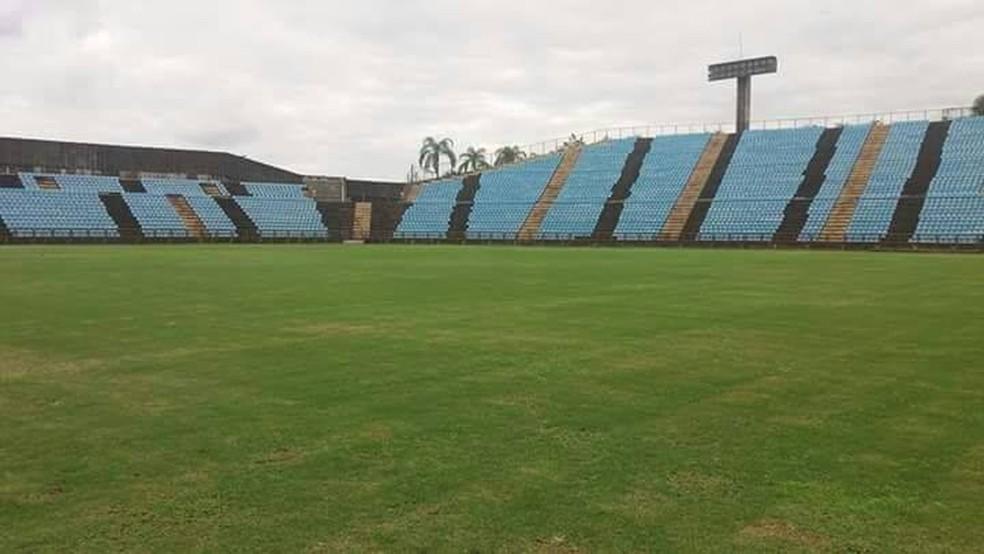 Estádio Ipatingão aguarda aval da Federação Mineira de Futebol para voltar a receber público