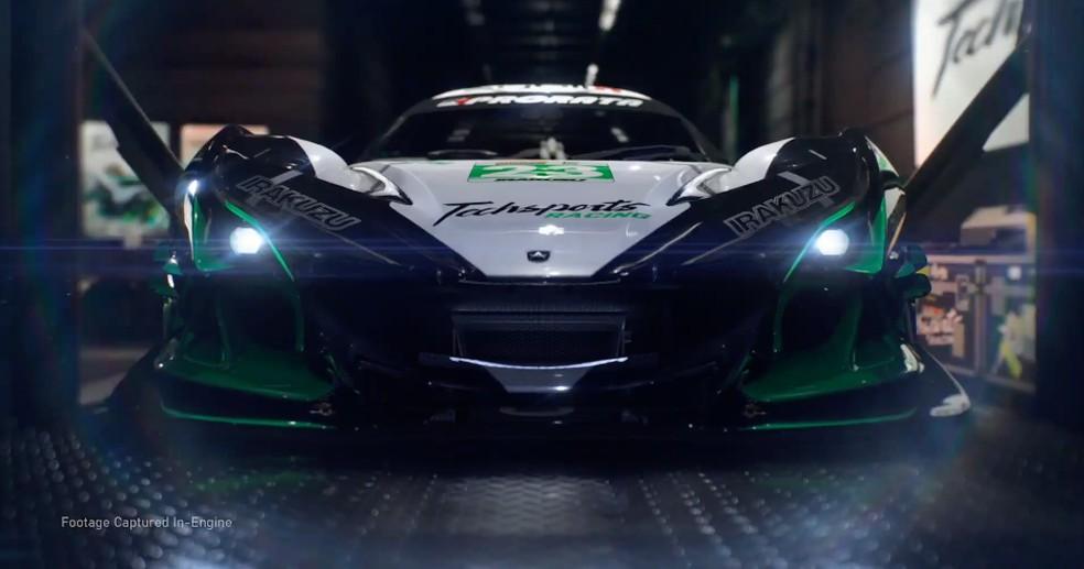 Forza Motorsport exibiu toda a qualidade gráfica do Xbox Series X — Foto: Divulgação/Microsoft