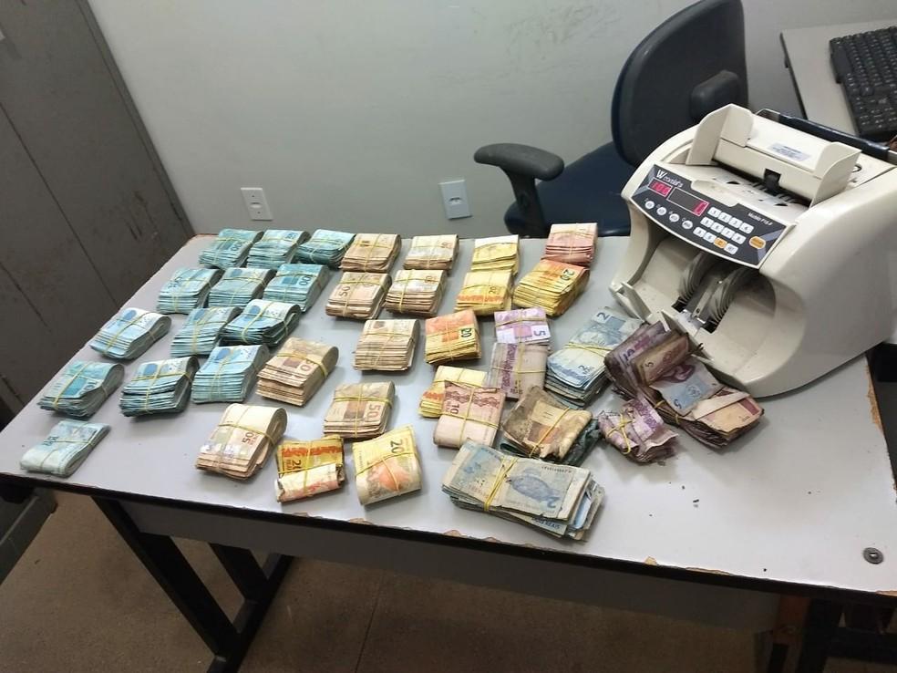 R$ 177 mil foram recuperados — Foto: Divulgação/SSP