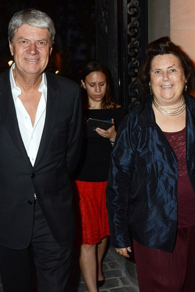 Yves Carcelle  e Suzy Menkes (Foto: Getty Images)