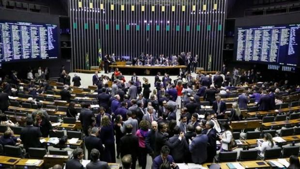 Câmara durante a discussão da reforma da Previdência; por se tratar de emenda constitucional, texto precisa passar por duas votações nas duas casas legislativas (Foto: LUIS MACEDO/CÂMARA DOS DEPUTADOS)