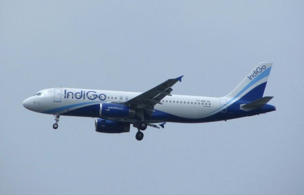 Avião da companhia indiana IndiGo (Crédito: Flickr/Kurush Pawar)