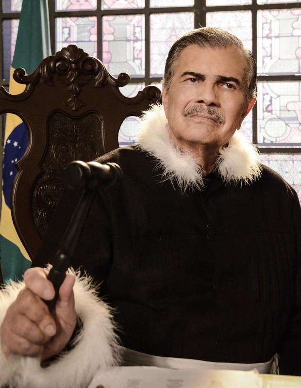 Tarcísio Meira em participação especial em Gabriela (Globo, 2012) (Foto: Raphael Dias/TV Globo)
