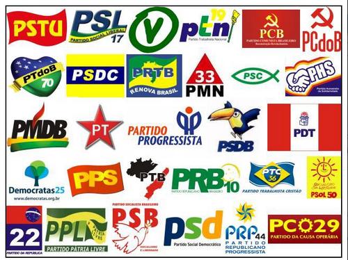 Explosão de partidos (Foto: Reprodução da internet)