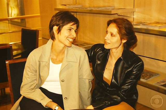 Leila (Silvia Pfeifer) e Rafaela (Christiane Torloni) (Foto: Divulgação/TV Globo)