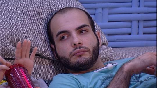 Mahmoud opina sobre o Paredão: 'Eu ou Diego'