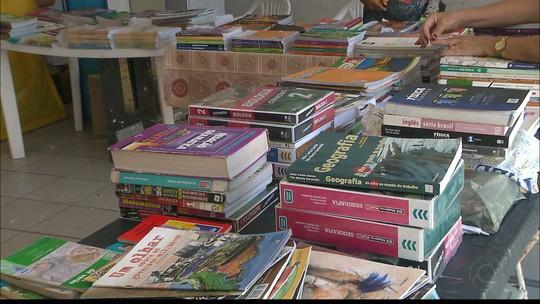 JPB2JP: Já está aberta a tradicional feira de livros usados de Mangabeira em João Pessoa