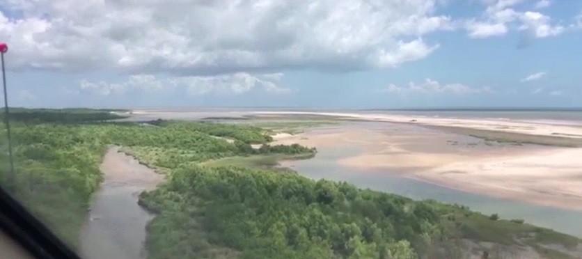 Suposto material usado por pescadores desaparecidos é encontrado no litoral de Raposa
