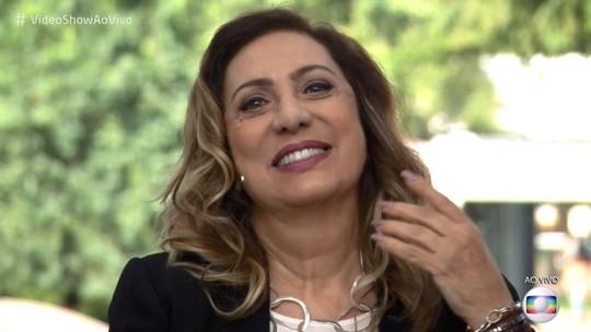 Eliane Giardini se emociona em homenagem do 'Meu Vídeo É Um Show'
