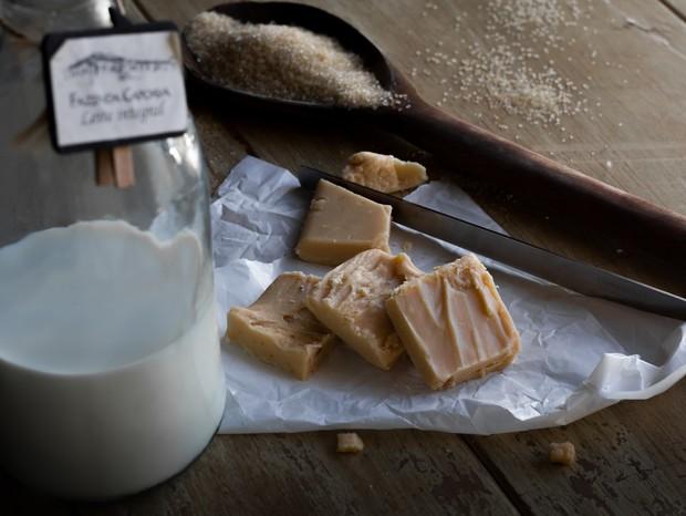 Doce de leite em pedaços para a festa caipira (Foto: Divulgação)