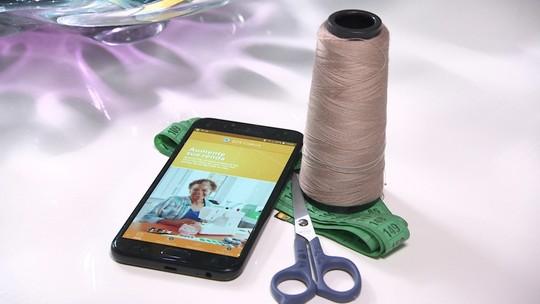 Tecnologia dá fôlego para a profissão de costureira