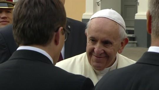 Depois de passar pela Lituânia, Papa Francisco chega à Letônia