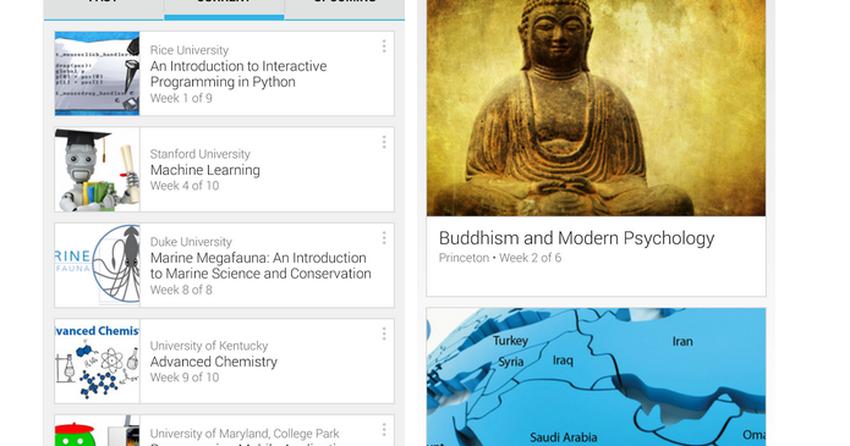 Apps para Android: Coursera, Recarga.com e outros destaques da semana