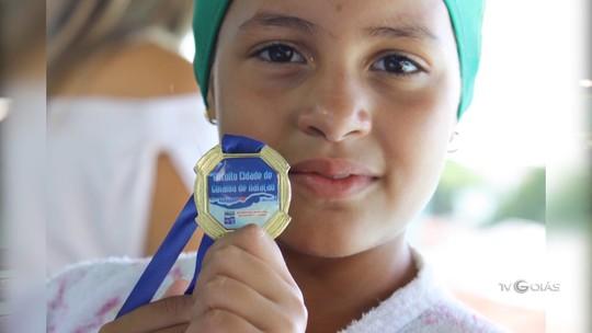 TV Goiás - Bate-papo com a nadadora Eduarda do Valle