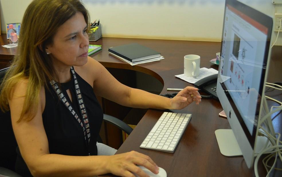 A professora da Faculdade de Ciências Farmacêuticas da USP em Ribeirão Preto Renata Vianna Lopez (Foto: Adriano Oliveira/G1)