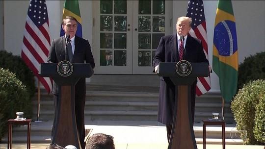 Trump quer governo Bolsonaro como aliado da Otan