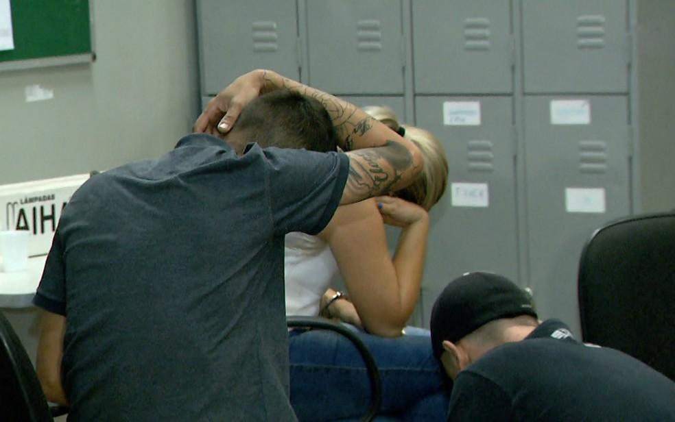 Casal foi preso no Parque Ribeirão Preto com 100 quilos de cocaína e crack (Foto: Luciano Tolentino/EPTV)