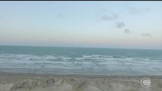 Marinha do Brasil alerta para ondas de até quatro metros no litoral do Piauí