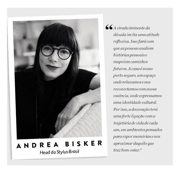 Andrea Bisker, head da Stylus Brasil (Foto: Divulgação)