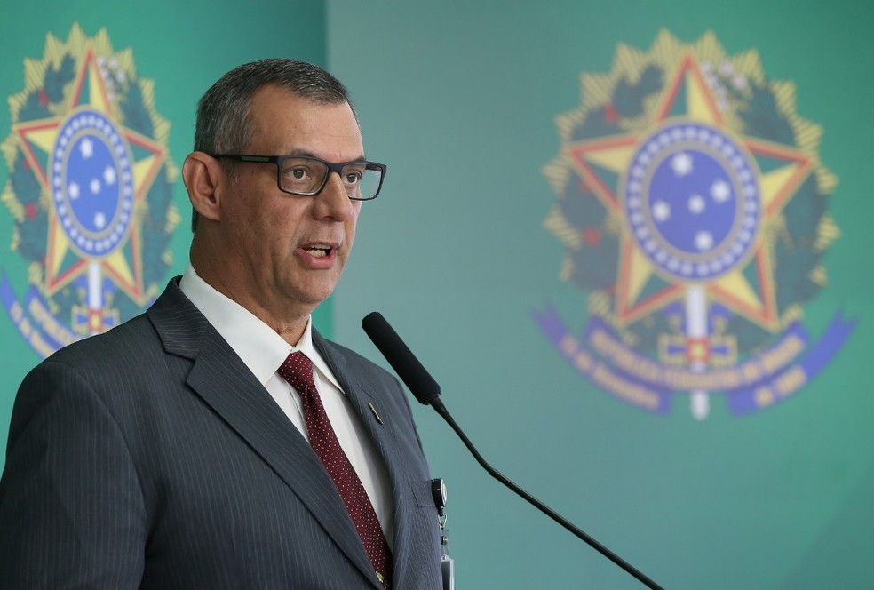 Otávio Rêgo Barros, porta-voz da Presidência — Foto: Marcos Corrêa/PR