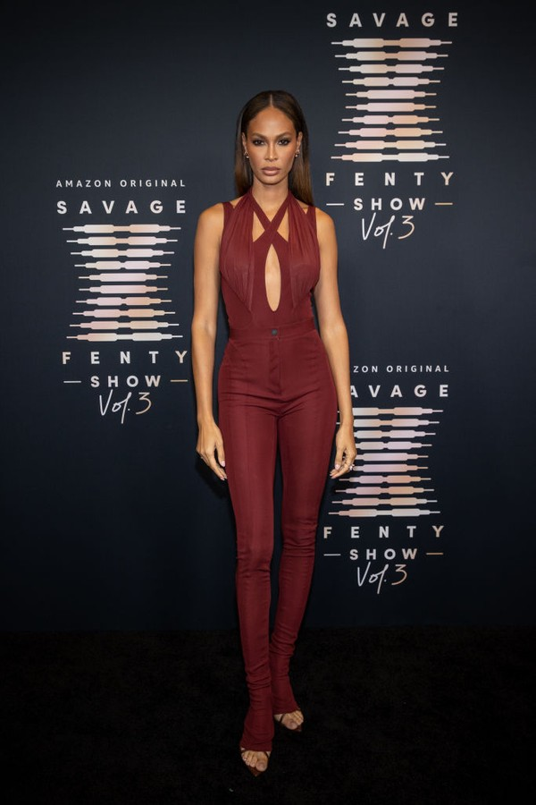 LOS ANGELES, CALIFORNIA - SEPTEMBER 22: In this image released on September 22, Joan Smalls attends Rihanna's Savage X Fenty Show Vol. 3 presented by Amazon Prime Video at The Westin Bonaventure Hotel & Suites in Los Angeles, California; and broadcast on  (Foto: Getty Images for Rihanna's Savag)