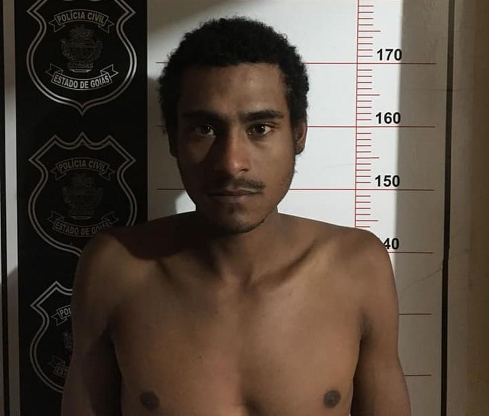 Jeaziel de Oliveira Freitas foi preso em Barra do Garças (Foto: Divulgação)