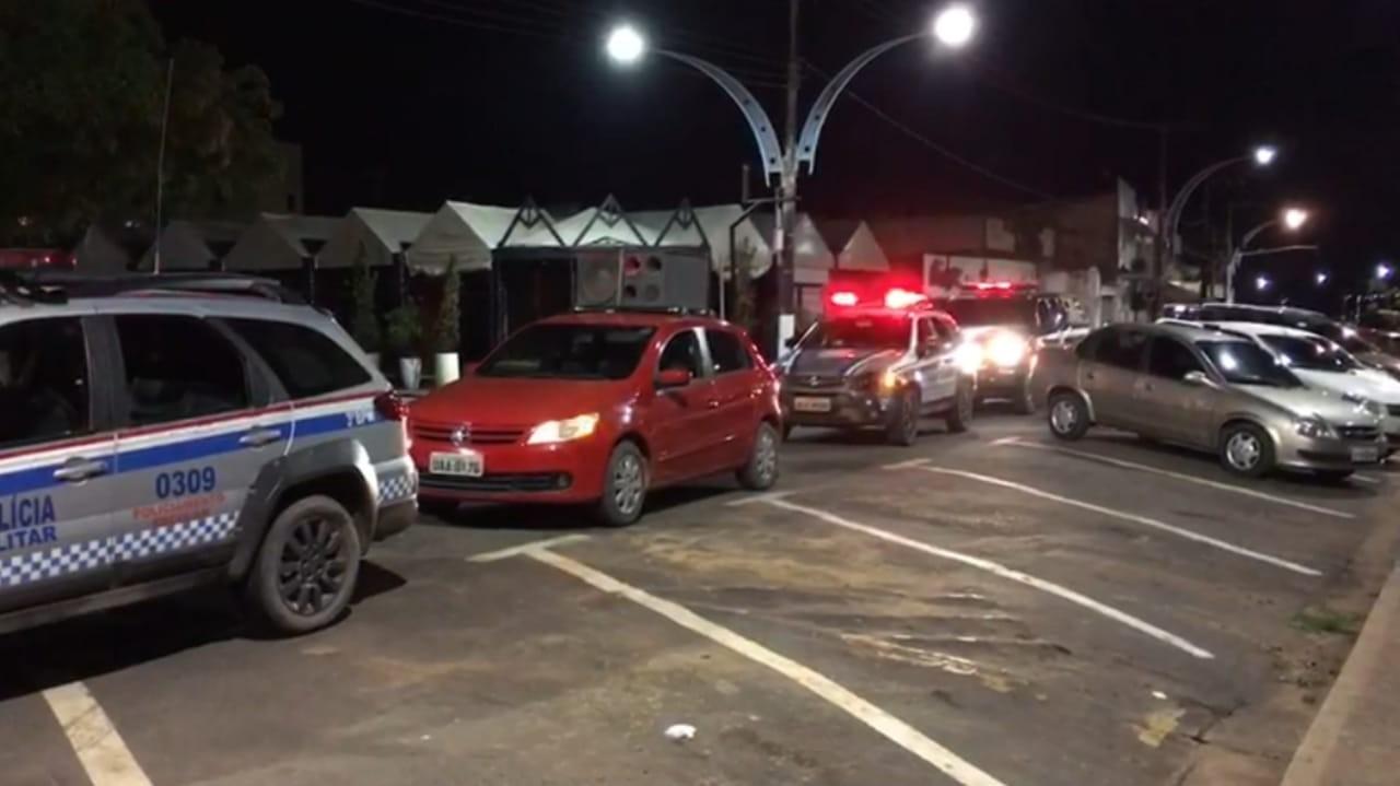 Órgãos de segurança intensificam ações em Santarém para conscientizar população sobre isolamento social