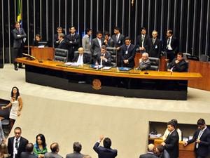 Sessão do Congresso para análise e votação de 12 vetos presidenciais (Foto: Gustavo Lima/Câmara)