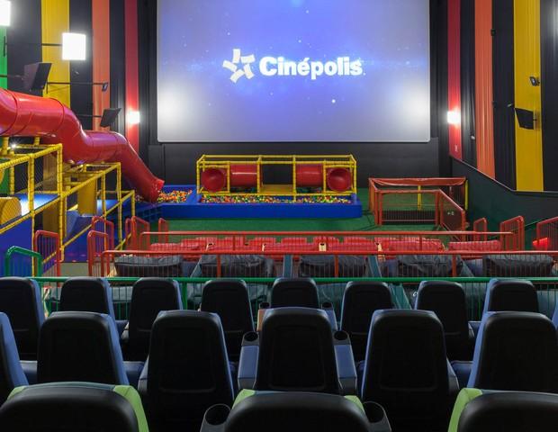 Cinépolis inaugura primeira sala junior da América do Sul (Foto: Divulgação)