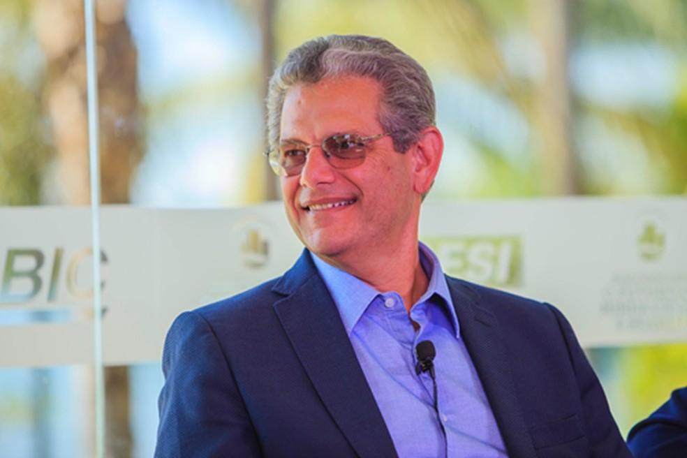 O ex-prefeito de Maringá Silvio Barros. — Foto: Tereza Sá/CBIC