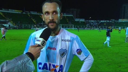 """Thiago Ribeiro lamenta empate com o Figueirense: """"Poderíamos ganhar"""""""