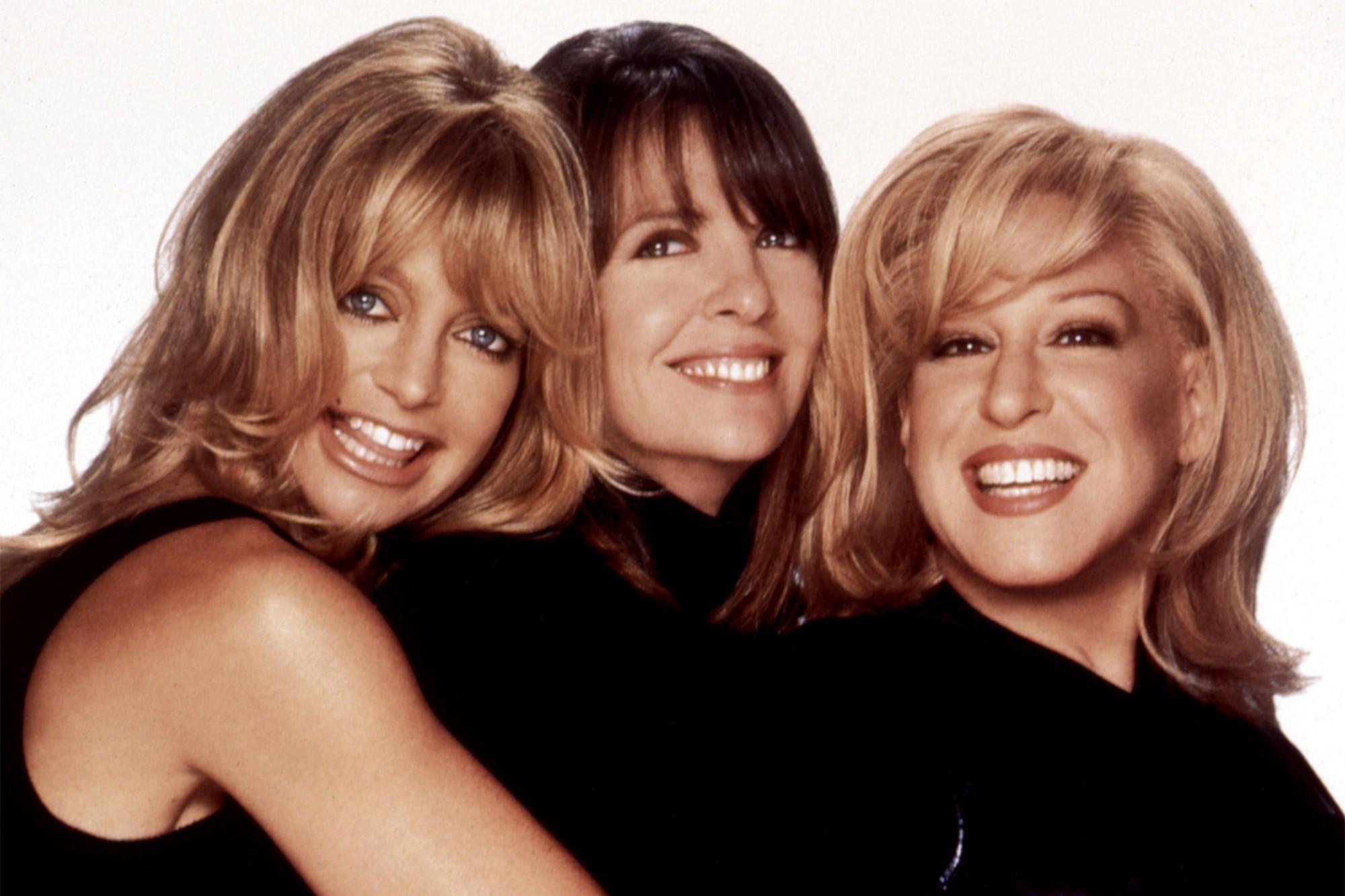 Goldie Hawn, Diane Keaton e Bette Midler em O Clube das Desquitadas (Foto: Divulgação)