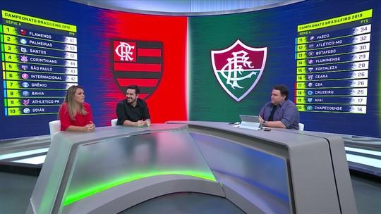 """Ana Thaís prevê equilíbrio no Fla-Flu: """"Acho que vai conseguir trocar de igual para igual com Flamengo"""""""