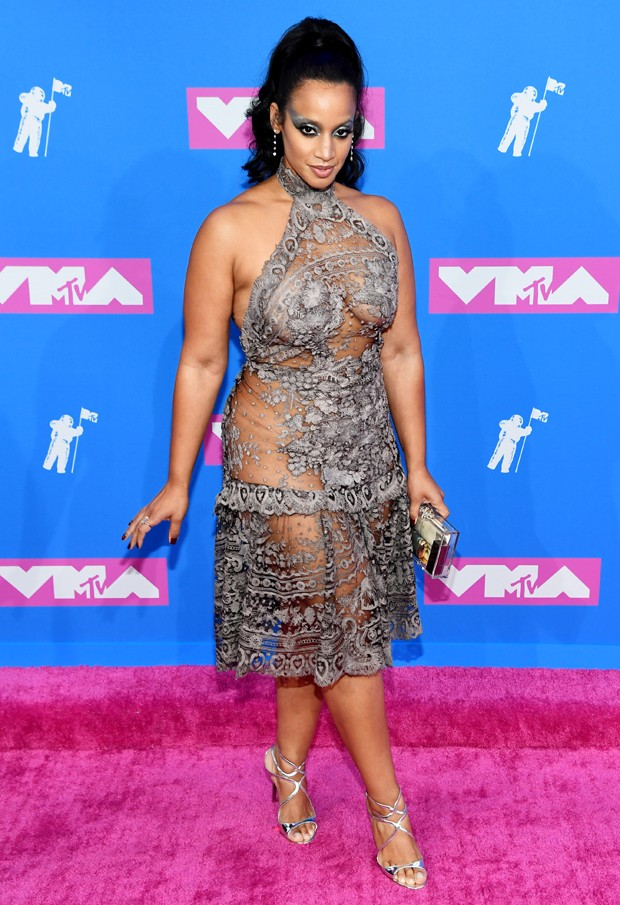 Dascha Polanco e seu look audacioso (Foto: Getty Images)