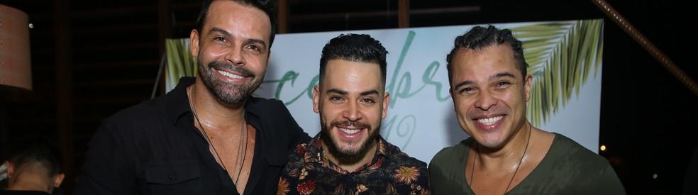 Réveillon Celebre terá Alexandre Peixe, Negra Cor e Dan Valente — Foto: Renata Marques/Divulgação