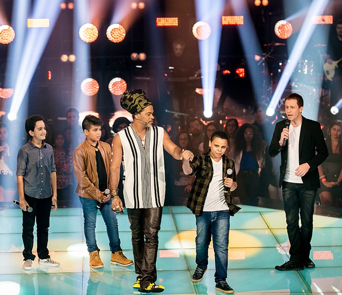 Ryandro Campos continua na disputa no The Voice Kids (Foto: Isabella Pinheiro/Gshow)