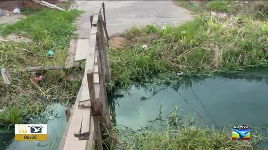 Moradores reclamam de problemas em ponte em Imperatriz