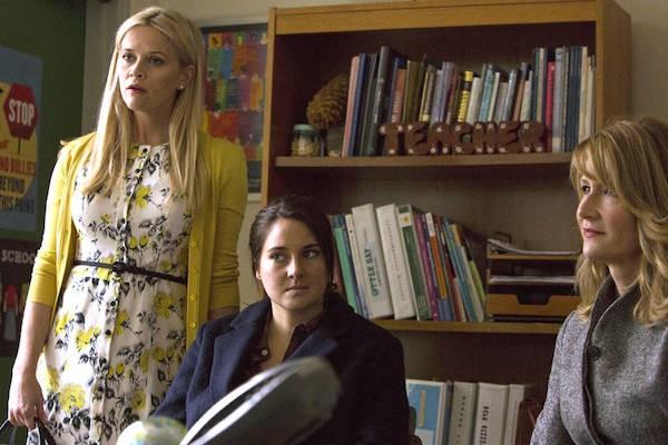 Laura Dern e Reese Whiterspoon em cena de Big Little Lies (Foto: Divulgação)
