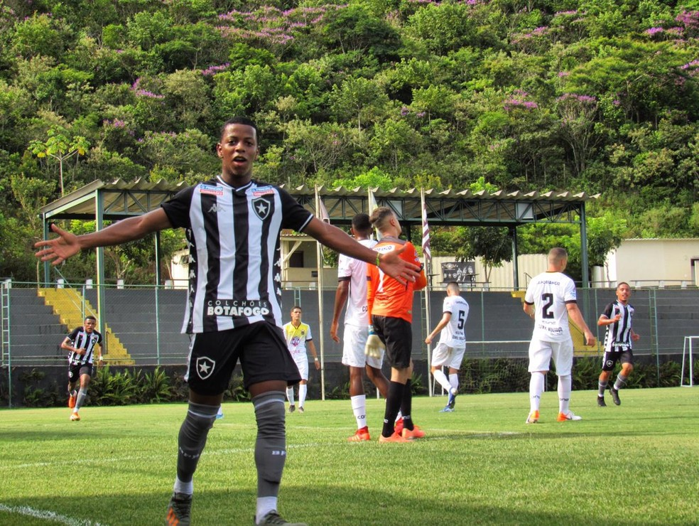 Gol, Botafogo Sub-20, Ênio — Foto: Fabio de Paula/Botafogo
