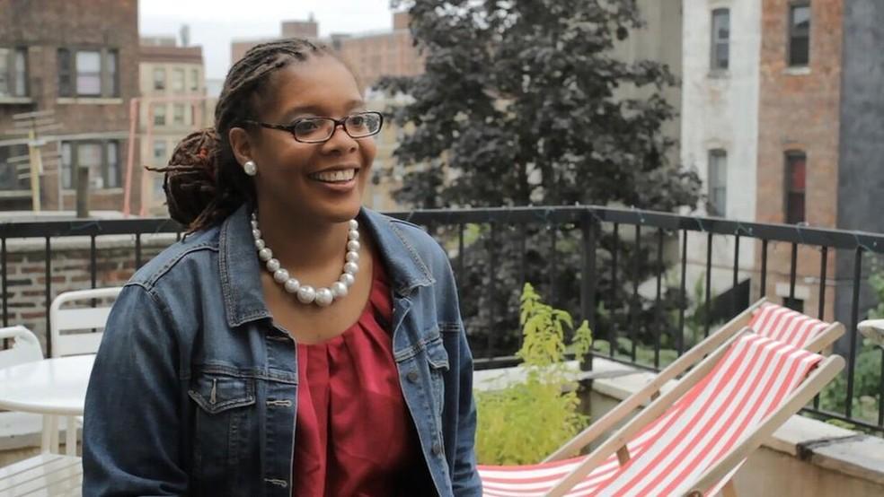 Melissa Barber se formou na Escola Latino-Americana de Medicina em Havana e hoje coordena o programa que oferece bolsa de estudos aos alunos americanos (Foto: Arquivo pessoal)