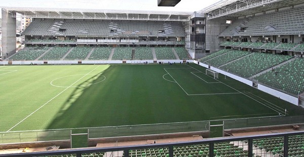 Independência sediará o clássico América x Cruzeiro no domingo — Foto: Twitter Atlético-MG