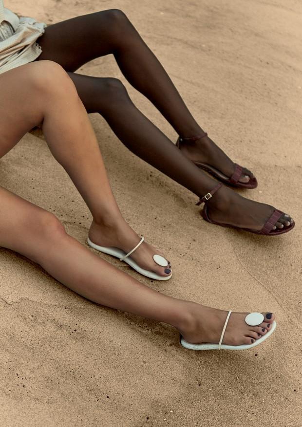 Novidades para cuidados dos pés nesse verão (Foto: Mar+Vin / Arquivo Vogue)