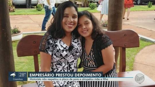 Suspeito de omissão de socorro após atropelar mãe e filha se apresenta à polícia em Bebedouro
