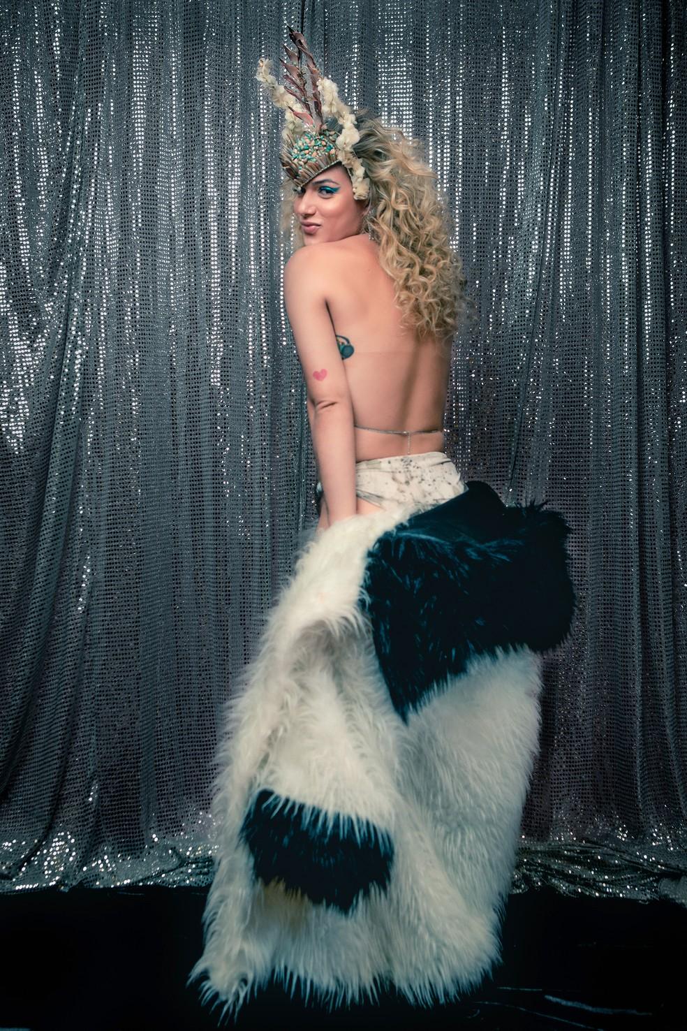 Glamour Garcia fala sobre autoestima e construção da imagem  — Foto: Fabiano Battaglin/Gshow