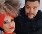 Babu e Tatiana Melo   Reprodução