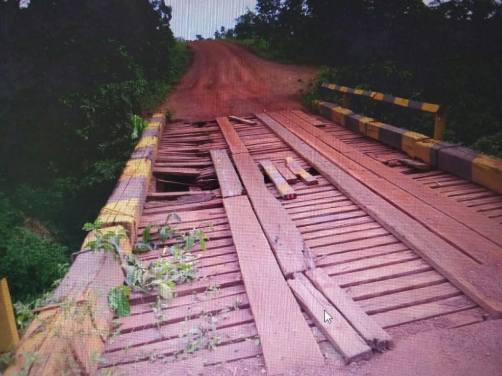 Obra no trecho pode começar pela substituição das pontes de madeira por pontes de concreto (Foto: Ascom/PRF)