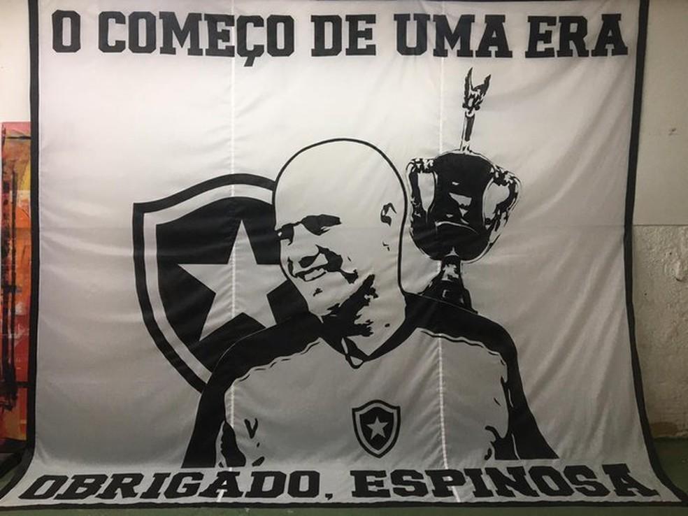 Valdir Espinosa, Homenagem, Botafogo — Foto: Divulgação