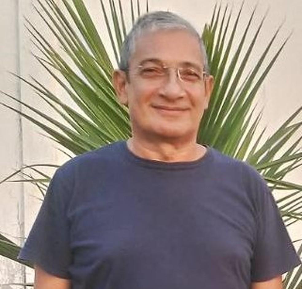 Virgílio Gomes, candidato pelo Republicanos em Guajará-Mirim — Foto: Reprodução/Rede Amazônica