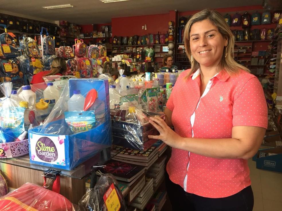 Carla Mafisa diz que brincadeira a fez se aproximar mais da filha — Foto: Ugor Feio/G1
