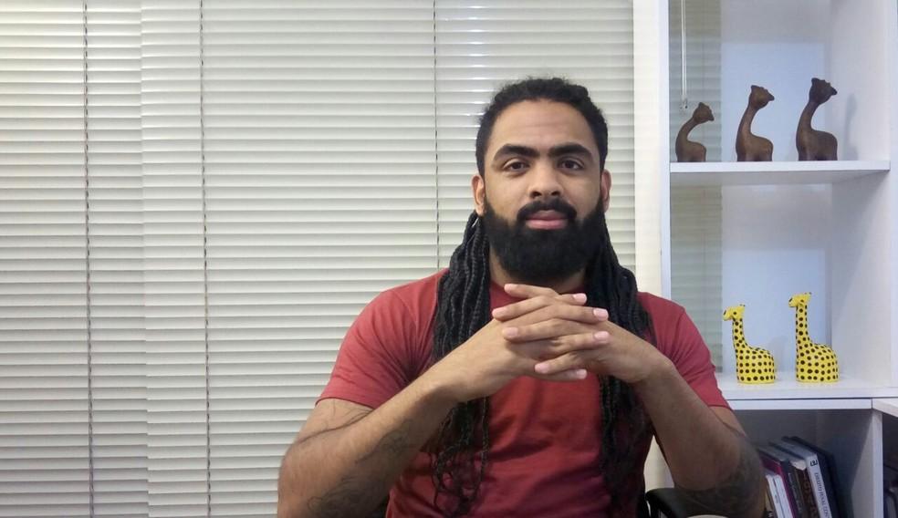 Juliano Trevisam considera que desabafo assumiu função social (Foto: Arquivo pessoal )
